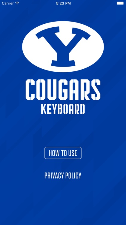 Rep the Y - BYU emoji keyboard screenshot-3