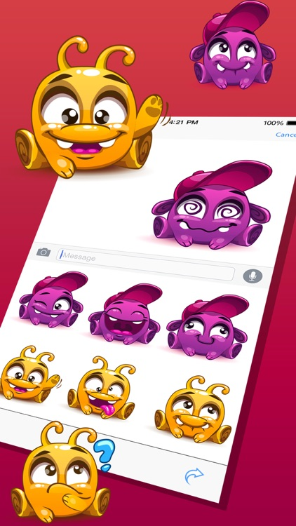 Cute Pet Monster Stickers