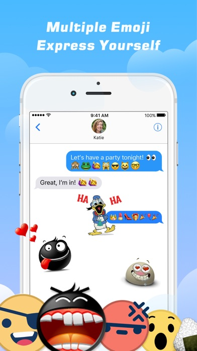 Emoji Free – Emoticons Art and Cool Fonts Keyboard-1