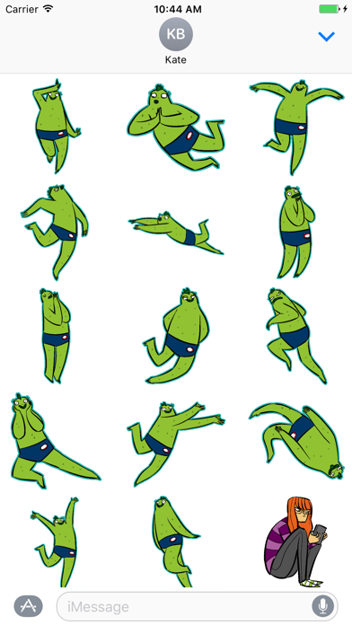 Desmond Fishman StickersScreenshot of 2