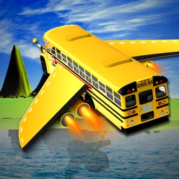 Flying School Bus Simulator: Extreme Flight Pilot