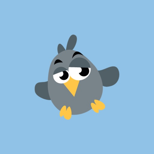 Lazy Bird Stickers for iMessage