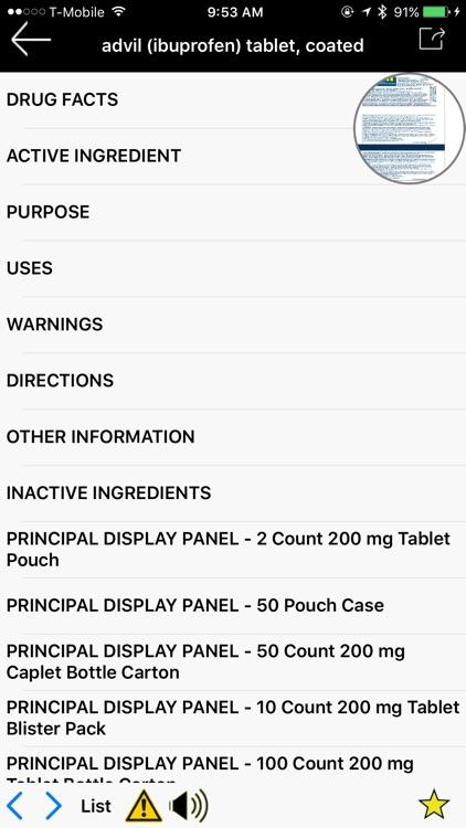 Drug Barcode Scanner Pro