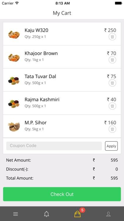 Raashan - Online Grocery Store