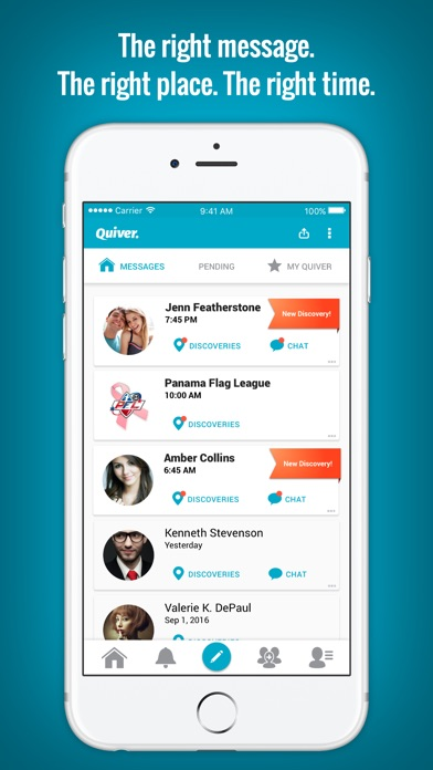 Quiver dating app