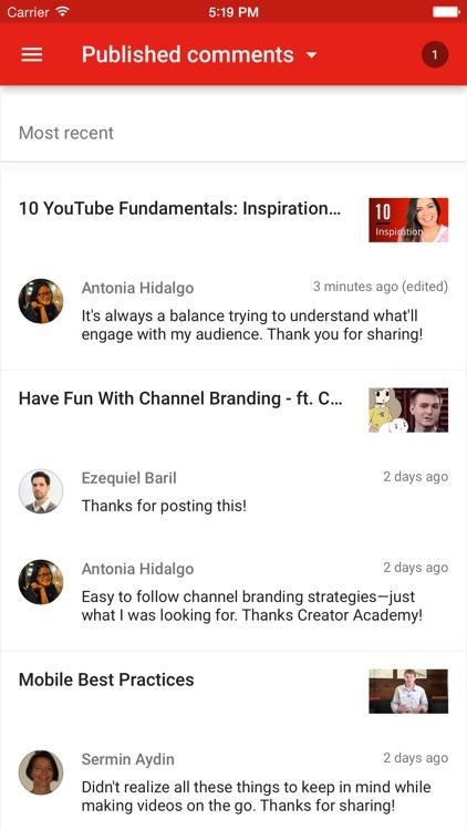 YouTube Creator Studio screenshot-4