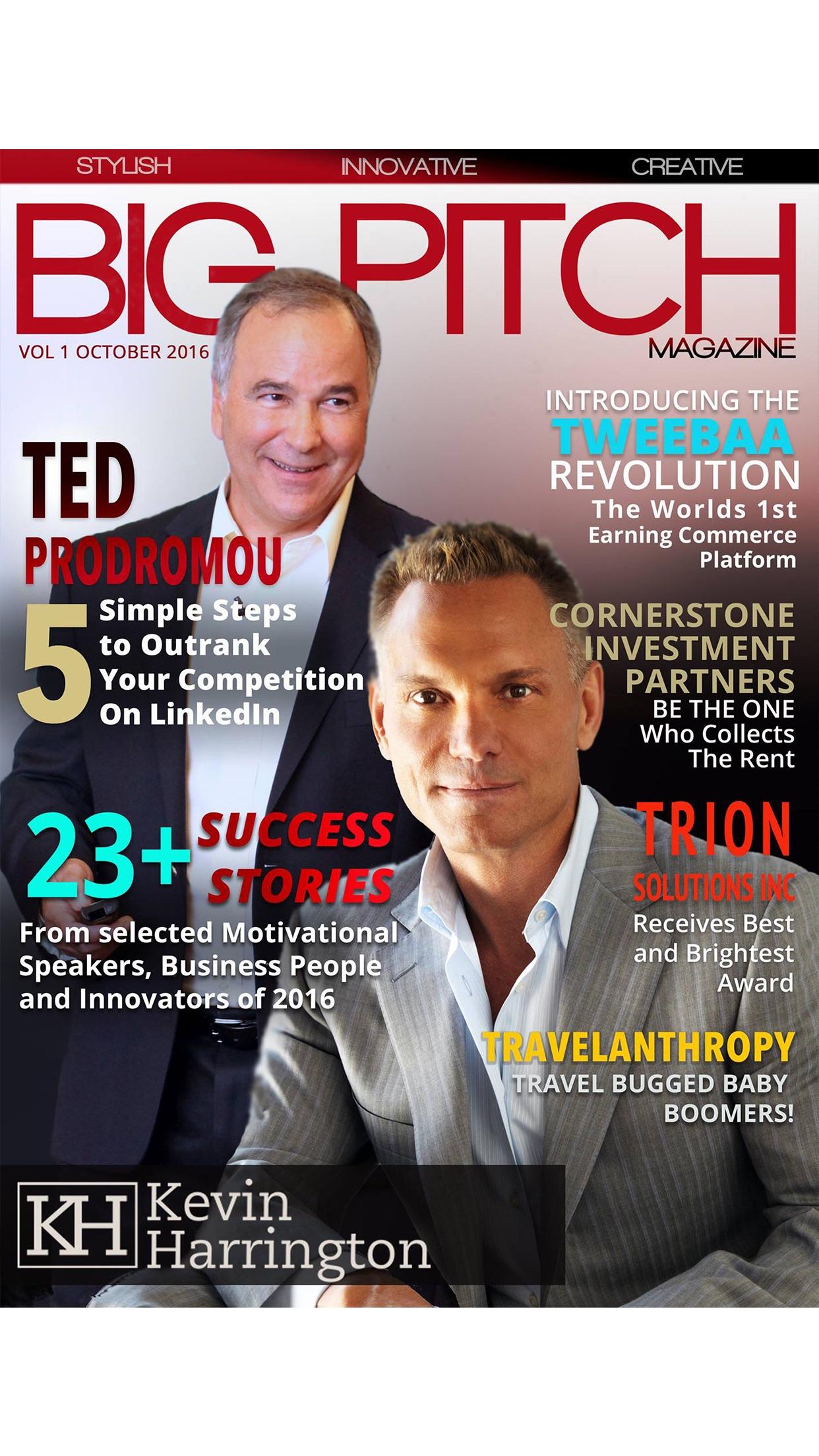 Big Pitch Magazine Screenshot