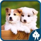 犬ジグソー パズル icon