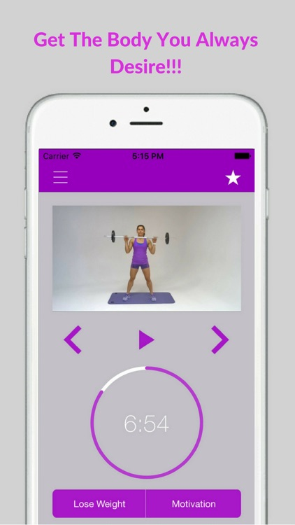 Barbell Fitness for Women Exercises and Workouts screenshot-4