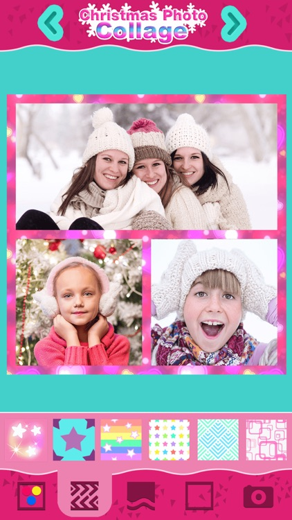Christmas Photo Collage: Winter Holiday Pic Frames screenshot-0