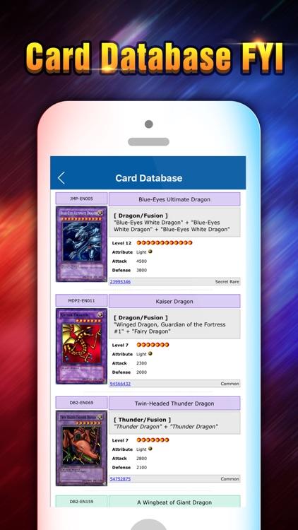 Calculator for Yu-Gi-Oh! Duel Generation & Links screenshot-3