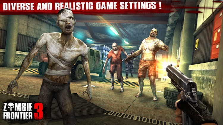 Zombie Frontier 3 – Top Zombie Shooting Game screenshot-4