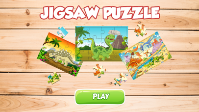 Kids Dinosaur Dino Puzzle Games For Toddlers Boys screenshot one