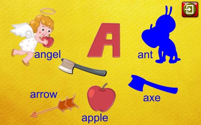 ABC Vorschule Anblick Wort Jigsaw Puzzle Formen Screenshot