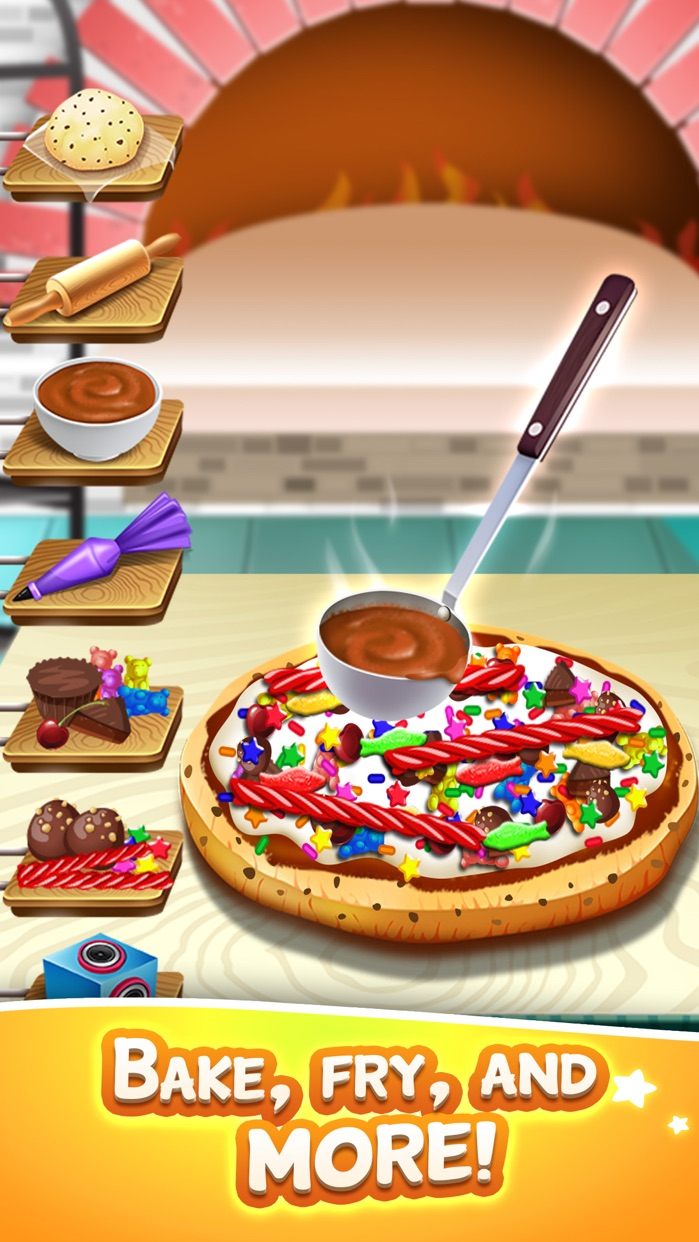 Kids Cooking Food Maker Games (Girl Boy) Free Screenshot
