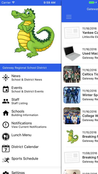 Gateway Regional School District screenshot one