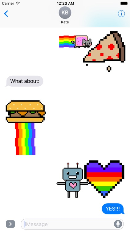 Nyan Cat Stickers! screenshot-3