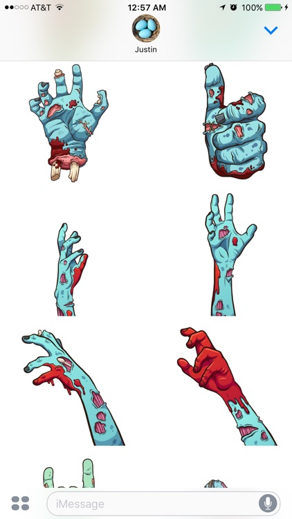 Zombie Stickers screenshot-2