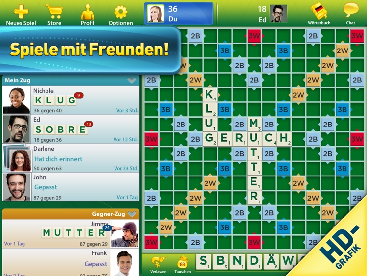 SCRABBLE™ Premium für iPad screenshot-0