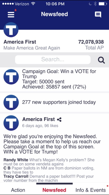 America First screenshot-2