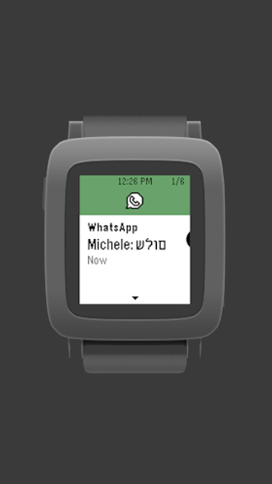 Font support for Pebble Timeのおすすめ画像4