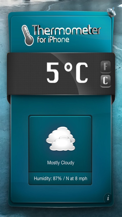 Thermometer-Temperature & Weather ! screenshot-4