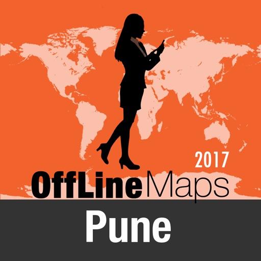 Pune mapa offline y guía de viaje