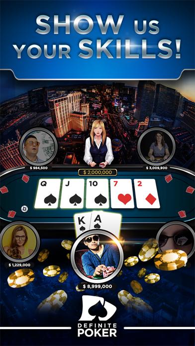 Definite Poker™ - Texas Holdem screenshot one