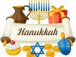 Hanukkah Stickers - Chanukkah Holiday Pack