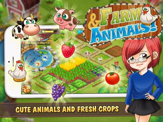 Screenshot #5 for Farm and Animals : Harvesting under the blue moon