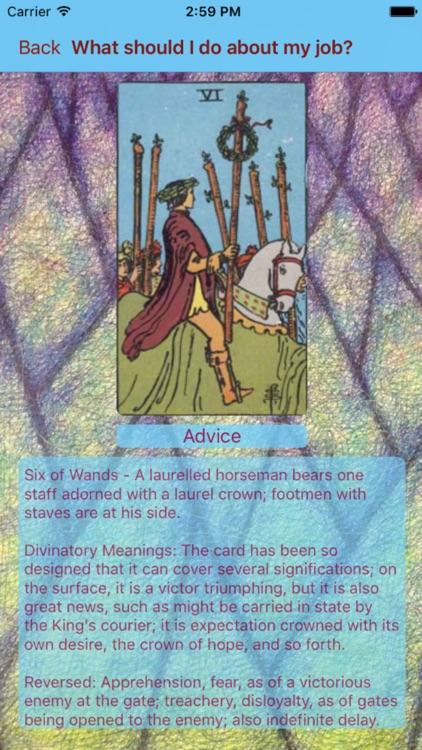 Tarot Card Reader Lite