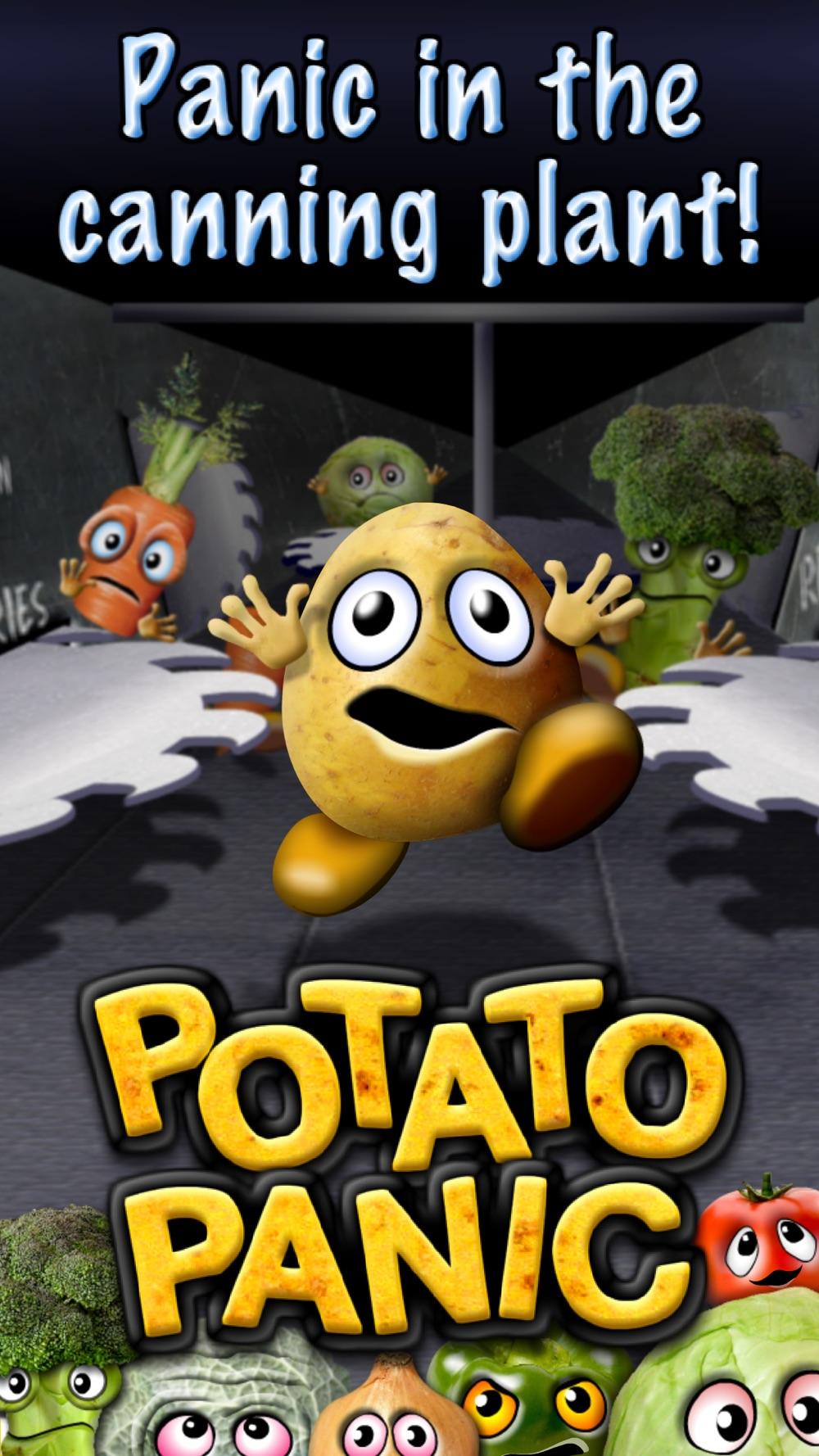 POTATO PANIC – action runner fun game
