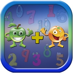 Number Fruit for Kids - Learning Math Add subtract