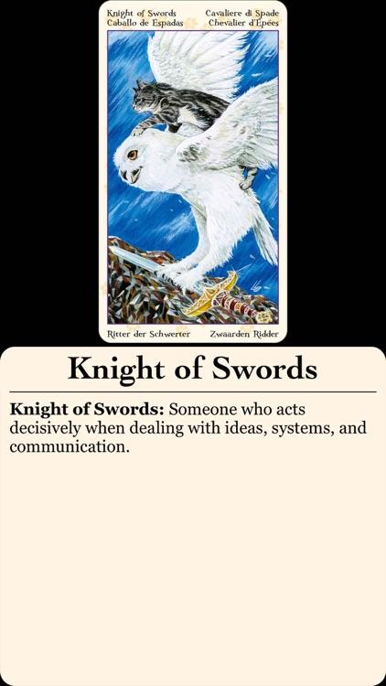 Tarot of Pagan Cats screenshot-3