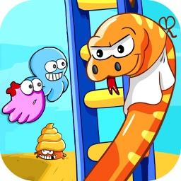 Snakes Vs Ladders - Free Snake Ladder Slither Game