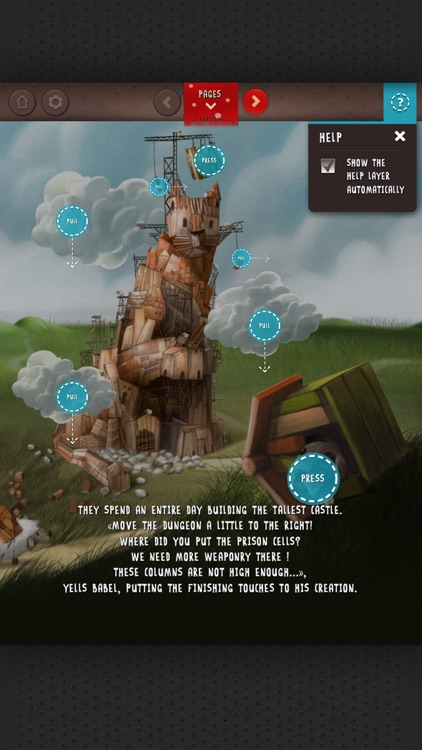 Babel, the King - EPIC animated storybook screenshot-3