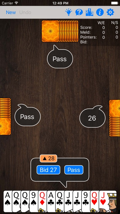 Pinochle screenshot-2