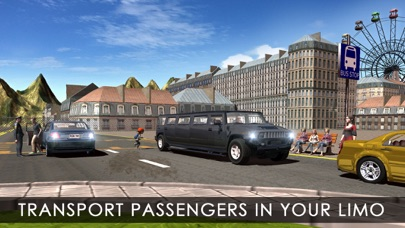 市リムジンタクシードライビングシミュレータのおすすめ画像1