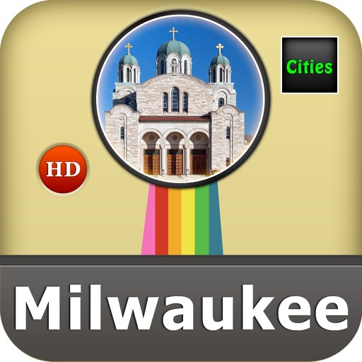 Milwaukee Offline Map City Guide