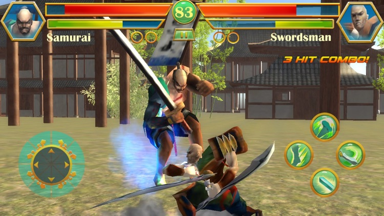 Shadow Blade fight:Free multiplayer PVP online boxing kombat games screenshot-4