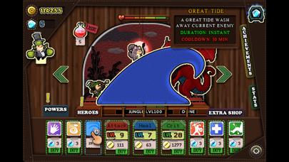 Tap Heroes - Adventure Battle QuestCaptura de pantalla de3