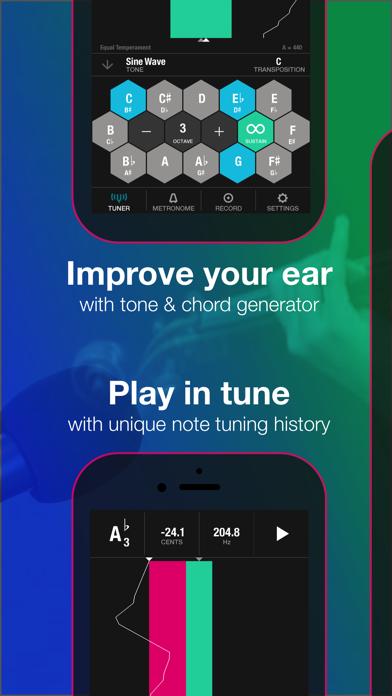 Tunable: Tuner, Metronome, and Recorder 앱스토어 스크린샷