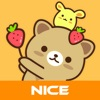 Strawberry Cat - Cute Stickers by NICE Sticker