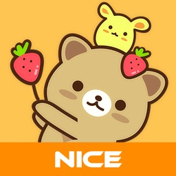 Strawberry Cat - Cute Stickers by NICE Sticker