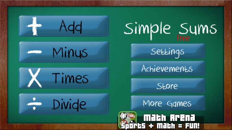 Simple Math - Free Math Game For Kids screenshot-4