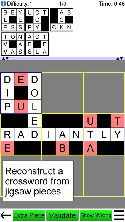 Jigsaw Crossword