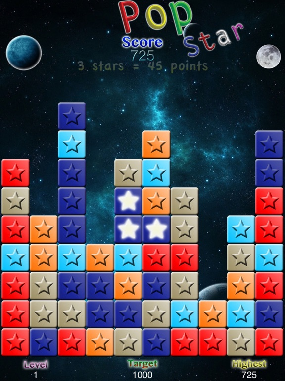 Screenshot #4 pour PopStar with Undo