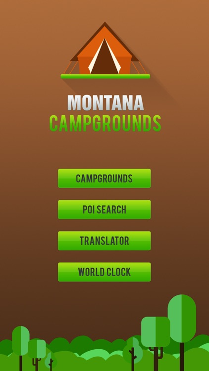 Montana Camping Guide screenshot-1