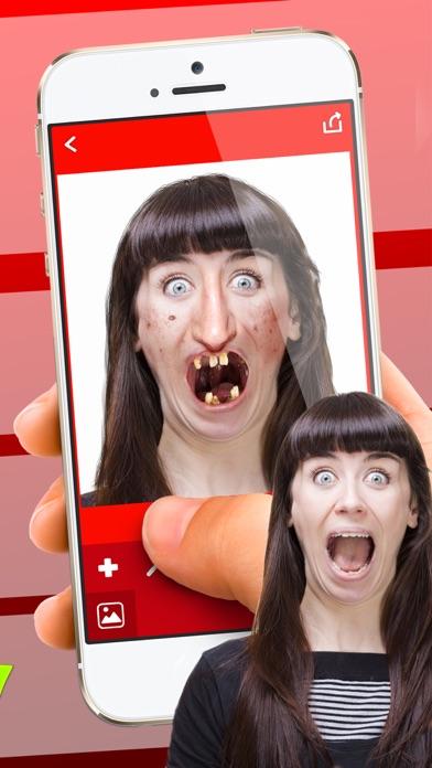 醜い 顔 写真 編集者 - おかしい カメラ ステッカー紹介画像2