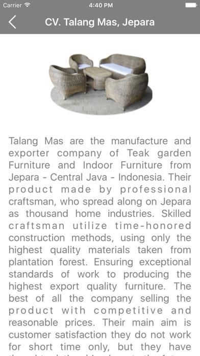 Indonesia Furnitures iPhone